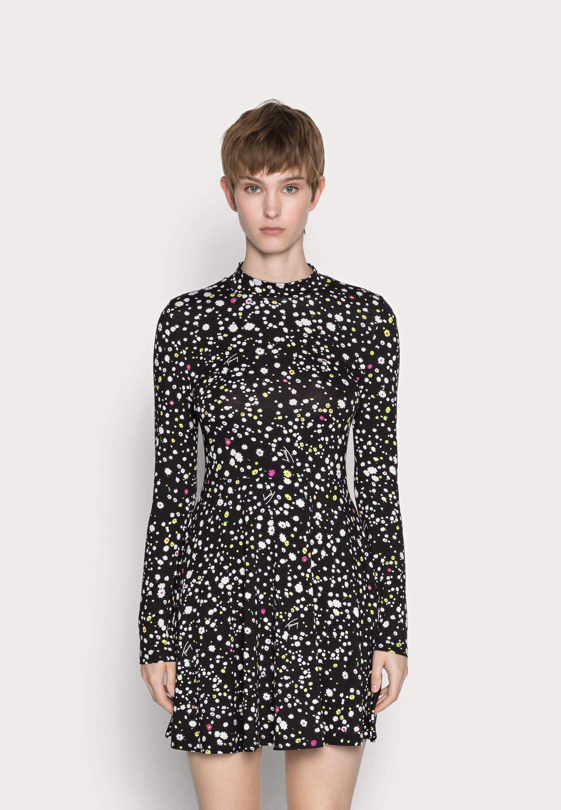 Damen PRINTED FIT AND FLARE DRESS - Freizeitkleid