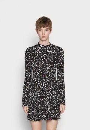 PRINTED FIT AND FLARE DRESS - Vestito estivo - multi-coloured