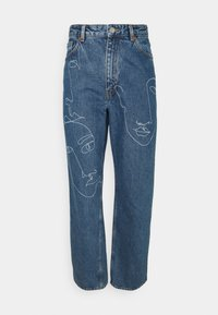 Monki - TAIKI FACES - Jeans relaxed fit - faces - 4