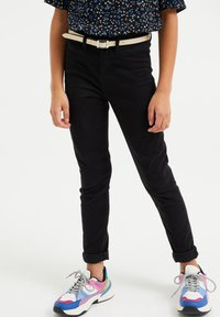 WE Fashion - SUPERSKINNY - Jeggings - black - 1