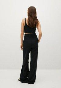 Mango - Trousers - black - 2