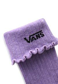 Vans - WM RUFFLE EDGE SOCK (6.5-10, 1PK) - Socks - chalk violet - 1