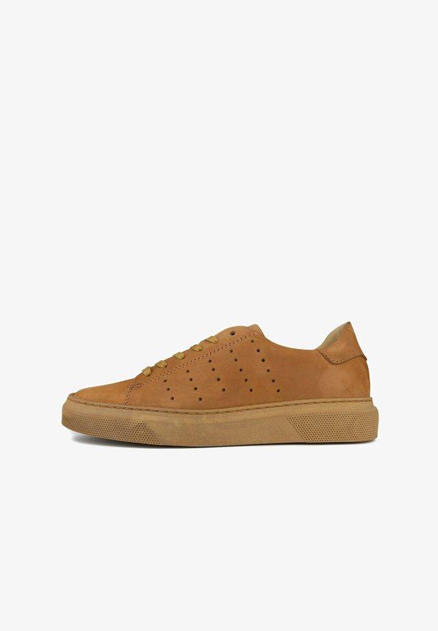 Sneakers laag - cuir