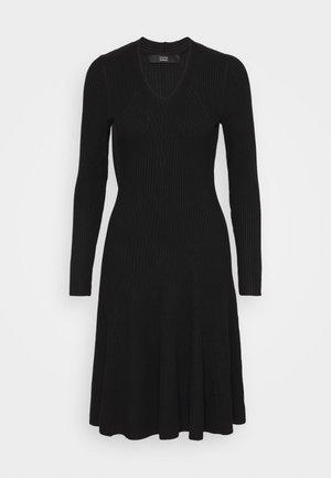 FAVORITE DRESS SPECIAL - Pletené šaty - black