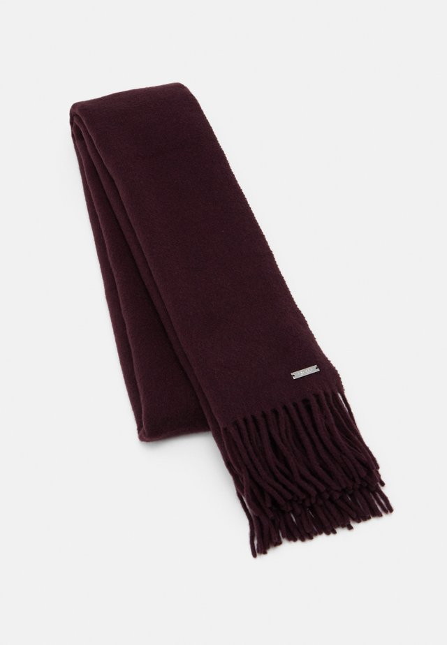 Scarf - dark raisin