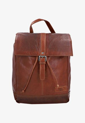 Rucksack - honey brown