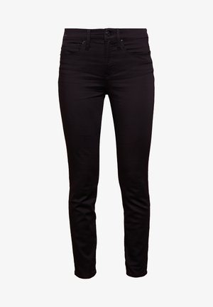 LOOKOUT HIGH RISE NEW BLACK - Jeans slim fit - true black