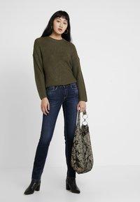 Le Temps Des Cerises - PULP REG - Straight leg jeans - blue - 1