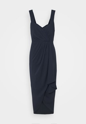 HADLEY WATERFALL MIDI - Cocktail dress / Party dress - navy