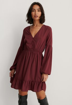 BALLOON - Day dress - red