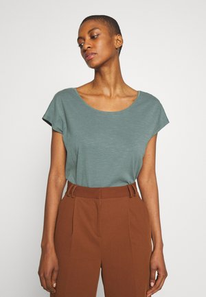 T-shirts print - khaki green