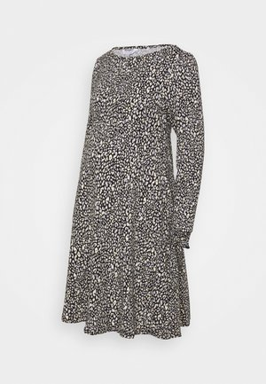 LEOPARD DRESS - Jersey dress - multi