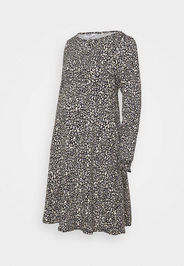 LEOPARD DRESS - Sukienka z dżerseju - multi