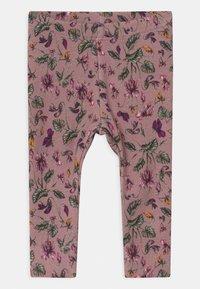 Name it - NBFROSEMARIE SET - Leggings - Trousers - italian plum/deauville mauve - 2