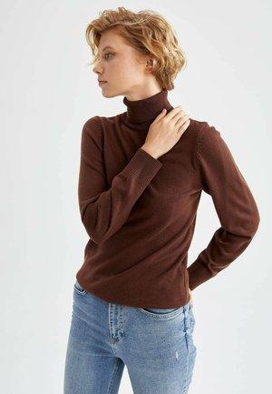 REGULAR FIT - Maglione - brown