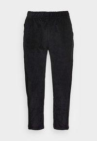LIFESTYLE CROP PANT - Trousers - black