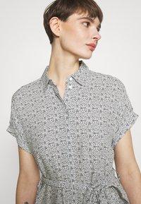 Vero Moda - VMSIMPLY EASY SHIRT DRESS - Shirt dress - navy blazer - 3