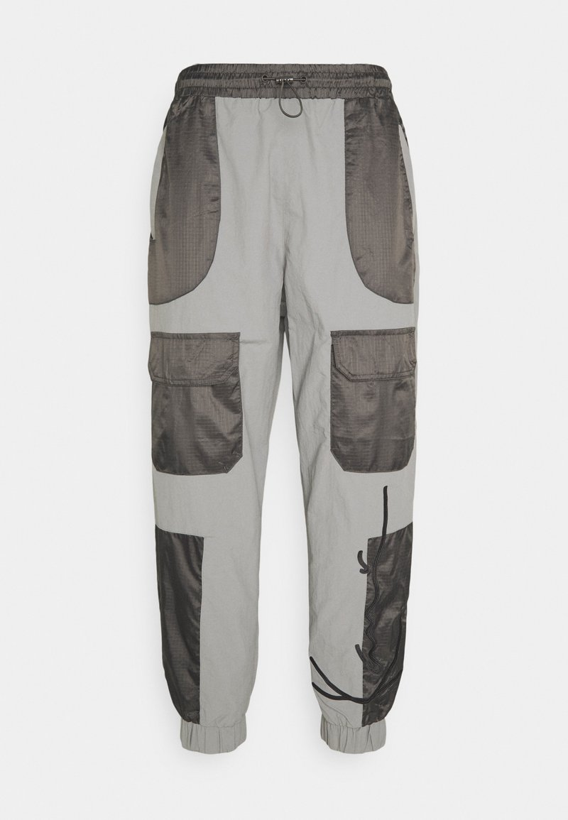 Karl Kani - SIGNATURE BLOCK TRACKPANTS - Spodnie treningowe - grey