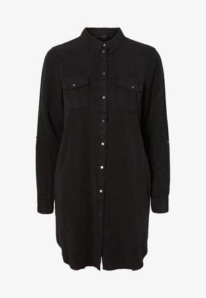 VMSILLA SHORT DRESS - Shirt dress - black