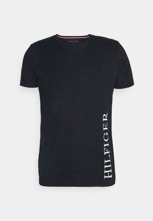SMALL LOGO TEE - T-shirt med print - blue