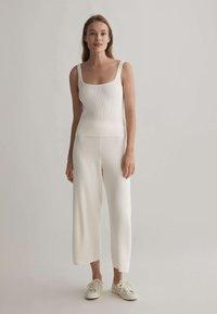 OYSHO - Kalhoty - white - 1