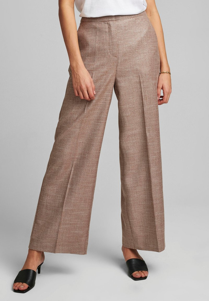 Nümph - Trousers - leather brown