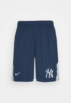 MLB NEW YORK YANKEES SHORT - Sports shorts - midnight navy