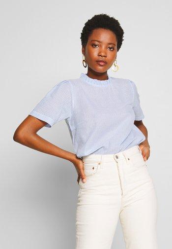 KATINKA BLOUSE - Print T-shirt - kentucky blue