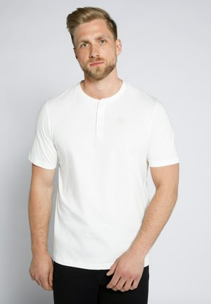 T-shirt basic - schneeweiß