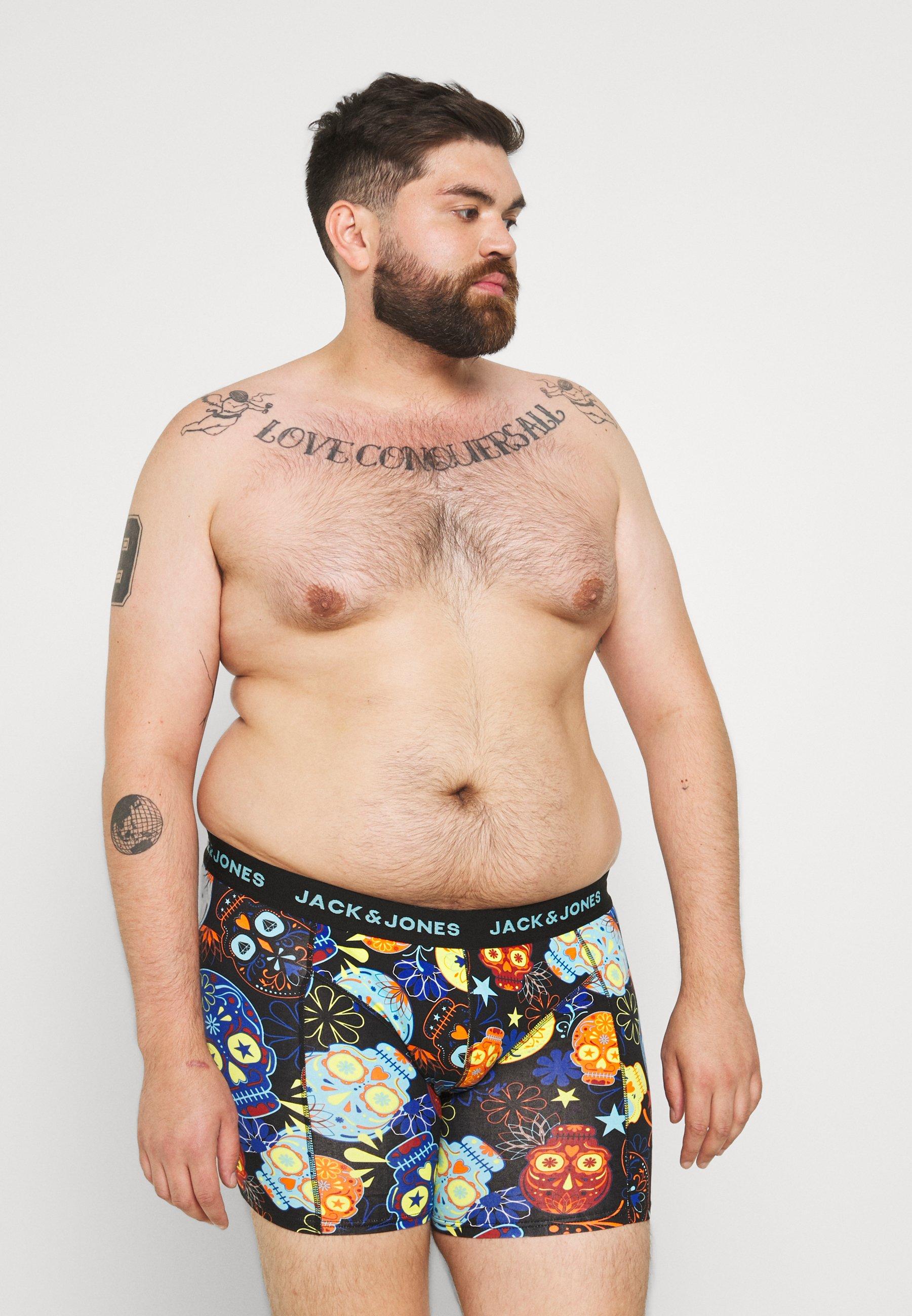 Men JACSUGAR SKULL TRUNKS 3 PACK  - Pants