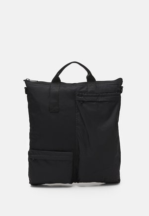 POCKET TRAVEL BAG - Bolso shopping - black
