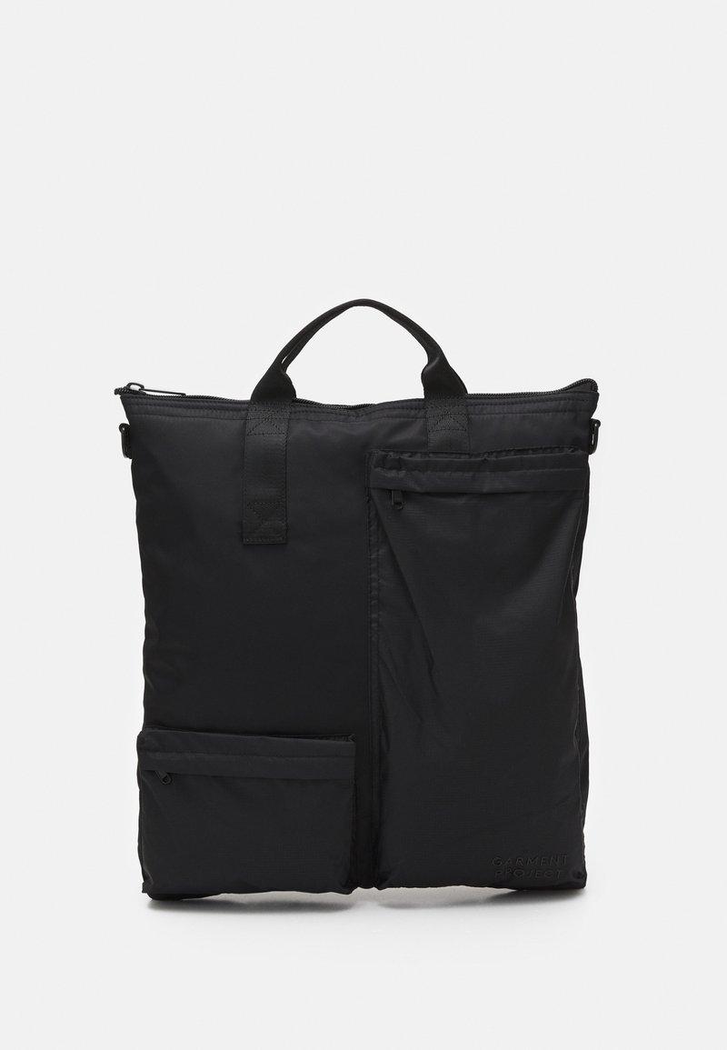 GARMENT PROJECT - POCKET TRAVEL BAG - Velká kabelka - black