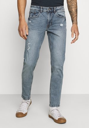 STOCKHOLM DESTROY - Slim fit jeans - crystal blue