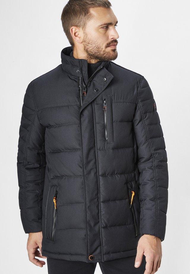 Winter jacket - dk. anthra  melange