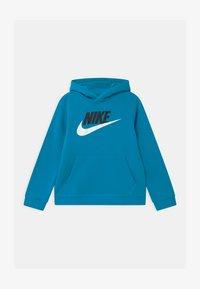 Nike Sportswear - CLUB - Bluza z kapturem - laser blue - 0