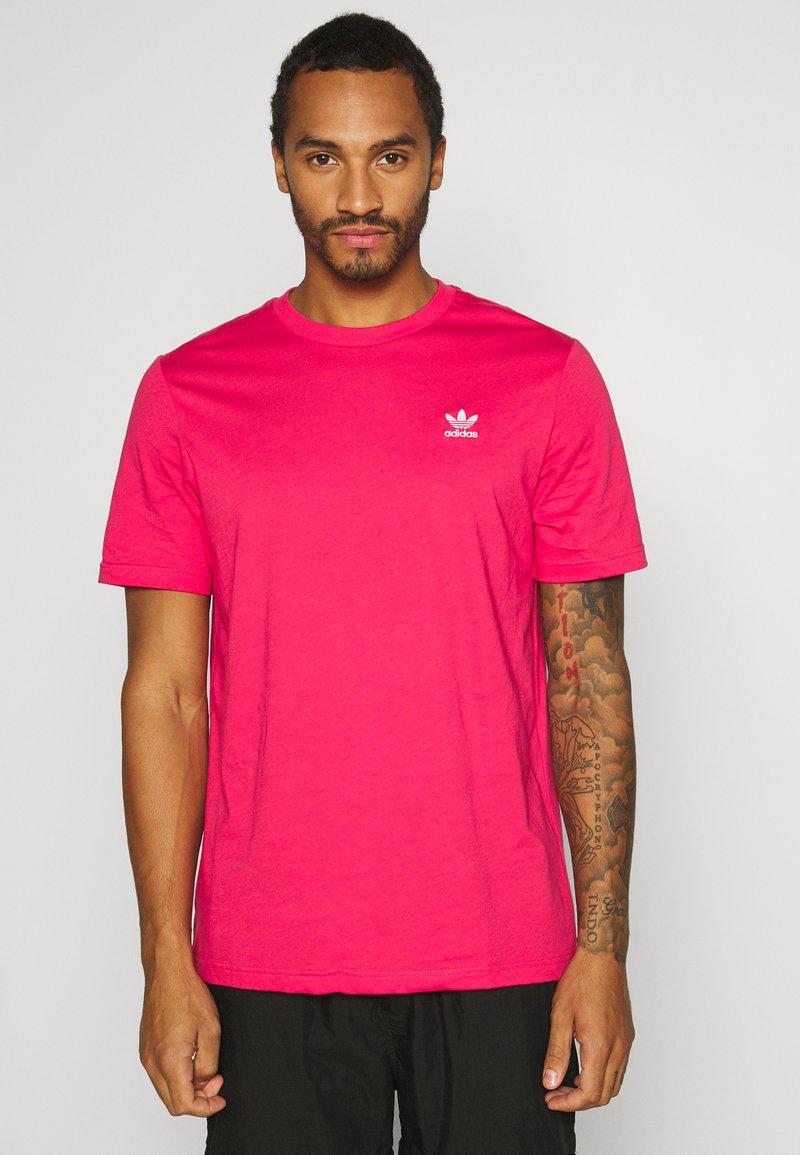 adidas Originals - ESSENTIAL TEE UNISEX - Basic T-shirt - powpnk