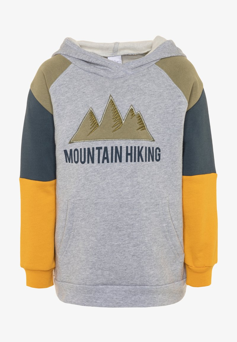 Fred's World by GREEN COTTON - HIKING HOODIE - Hoodie - pale greymarl