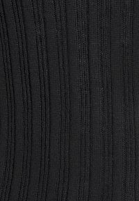 American Eagle - SOLID BODYCON TURTLENECK - Stickad tröja - true black - 2