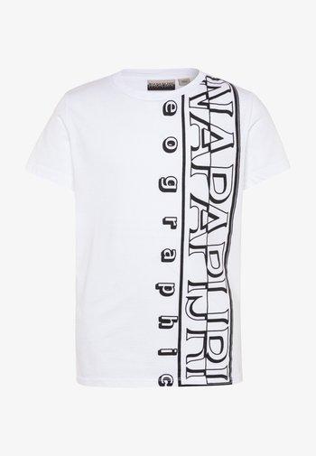 SERI - Print T-shirt - bright white