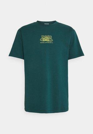 HARMONIA UNISEX - T-shirt con stampa - jungle blue