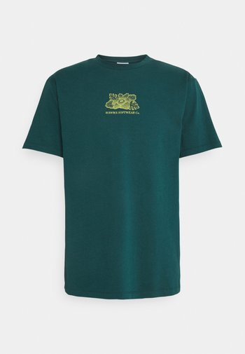 HARMONIA UNISEX - T-shirt med print - jungle blue