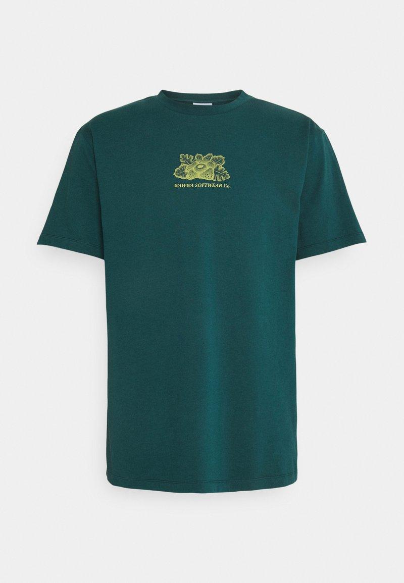 WAWWA - HARMONIA UNISEX - Camiseta estampada - jungle blue