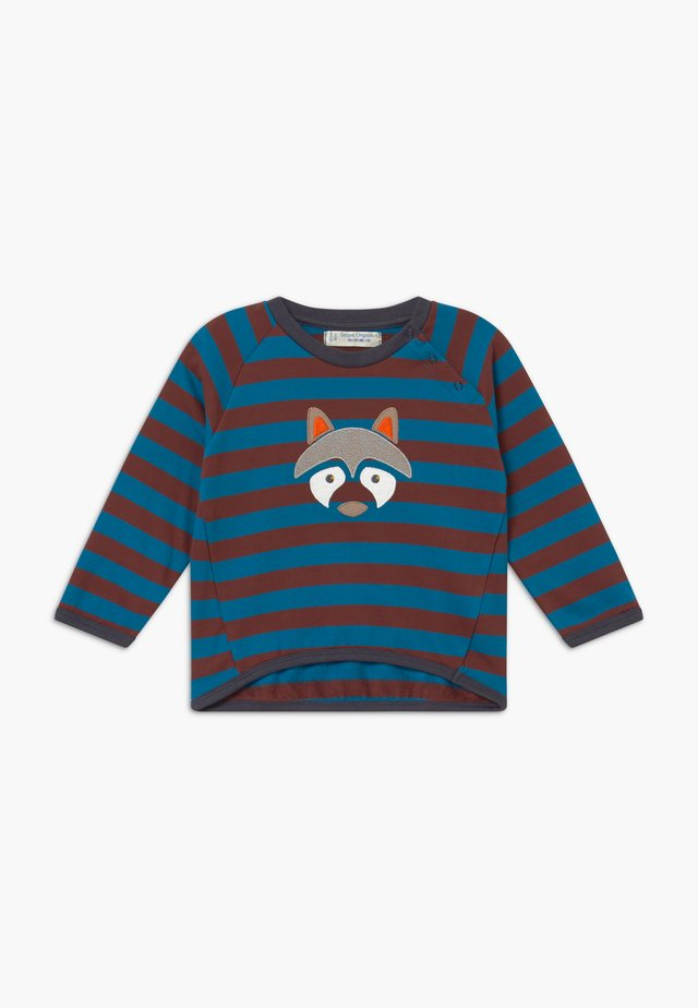 ETU BABY  - Sweatshirt - brown/blue