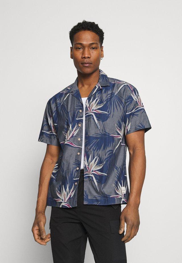 JORFLORAL SHIRT - Shirt - navy peony