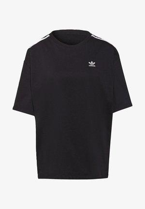 OVERSIZED ADICOLOR RELAXED - Camiseta estampada - black