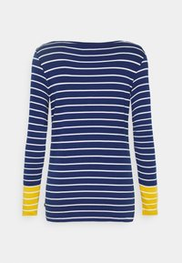 Esprit - STRIPE TEE - Long sleeved top - dark blue - 1