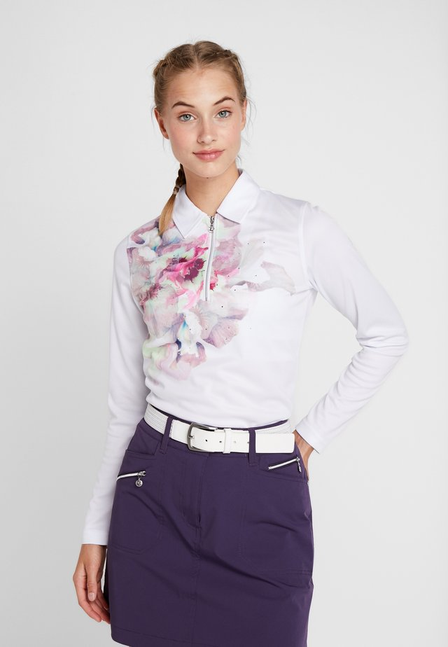 GRACE - Polo - white