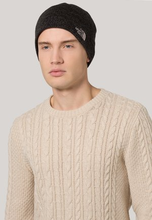 JIM BEANIE - Huer - black heather