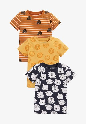3 PACK - Print T-shirt - multi coloured