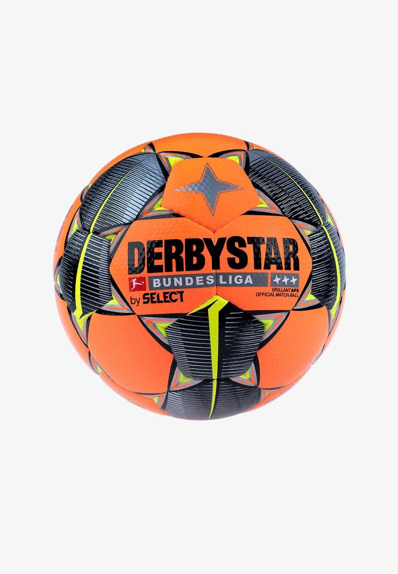 Derbystar - Football - orangeschwarzgelb